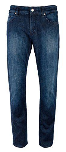 Hugo Boss Men's Slim Fit Delaware Green Label Stretch Jeans-B-38Wx32L