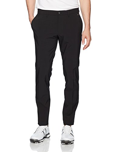 J.Lindeberg Men's Ellott Slim Fit Micro Stretch Pant, Black, 36/32