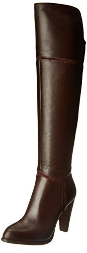 French Connection Women's Cai Dress Boot, Bitter Chestnut/Bitter Chestnut, 37 EU/6.5 M US