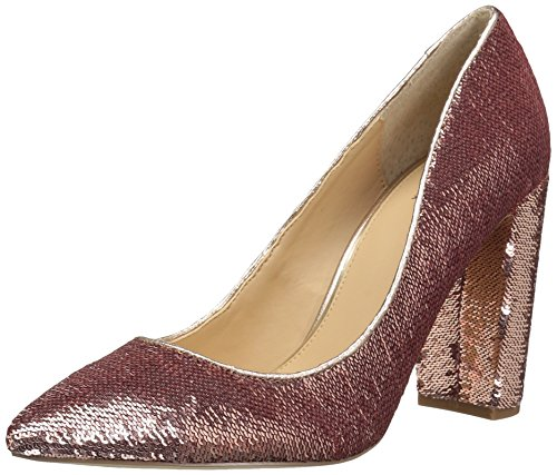 Badgley Mischka Jewel Women's Luxury Pump, Rose Gold, 8.5 Medium US