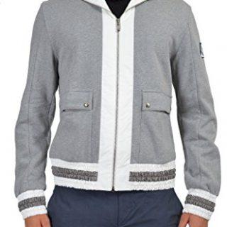 "Moncler ""Gamme Bleu"" Men's Gray Hooded Jacket Moncler S;"