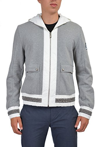 "Moncler ""Gamme Bleu"" Men's Gray Hooded Jacket Moncler S;"