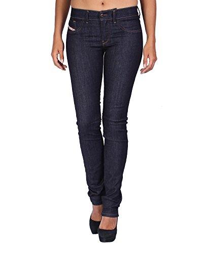 Diesel Women's Jeans Livier - Super Slim Jegging - Blue (Navy), W23