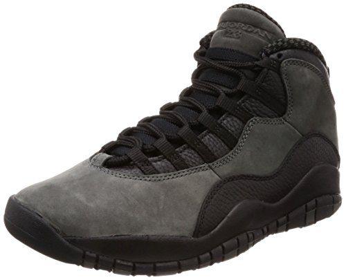 """Jordan : Mens Retro 10 """"Dark Shadow"""" Basketball Sneakers (8.5 D(M) US Men)"""