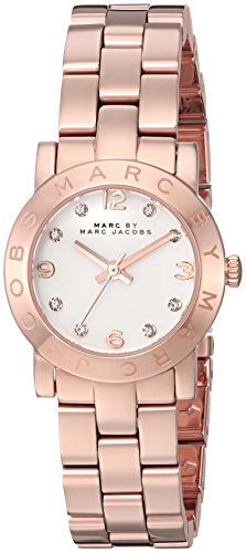 Marc by Marc Jacobs Silver Dial Stainless Steel Quartz Ladies Watch