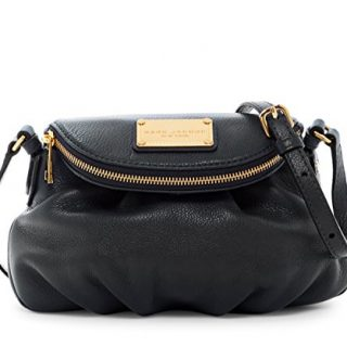 Marc by Marc Jacobs Mini Natasha Leather Handbag (Black)
