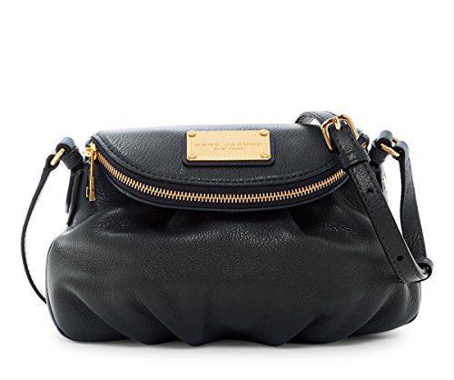Marc by Marc Jacobs Mini Natasha Leather Handbag (Black)