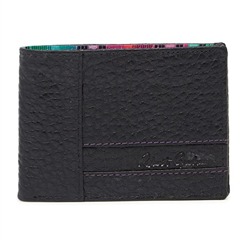 Robert Graham Men's Ferry Leather RFID Bifold Wallet, One Size, Black