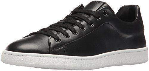 Marc Jacobs Men's Clean Nappa Fashion Sneaker, Black, 41 EU/7 M US