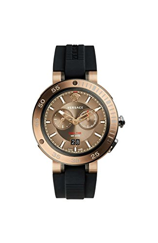 Versace V-extreme Brown Dial Mens Watch