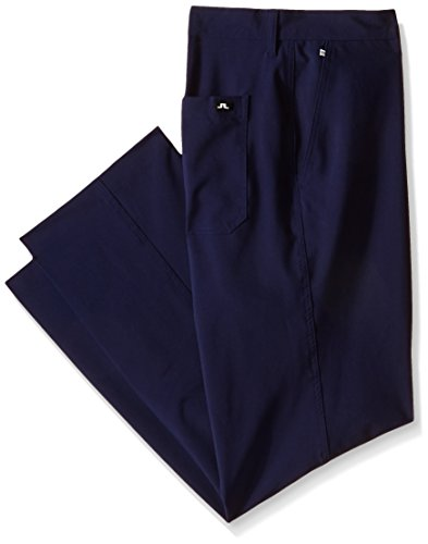 J.Lindeberg Men's M Troon Micro Stretch Golf Pant, Navy Purple, 38x32