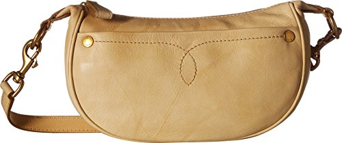 FRYE Campus Small Rivet Crossbody Leather Handbag, Banana