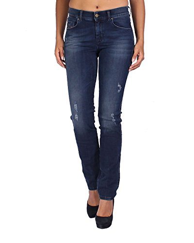 Diesel Women's Jeans Sandy - Regular Slim Straight - Blue, W26/L32