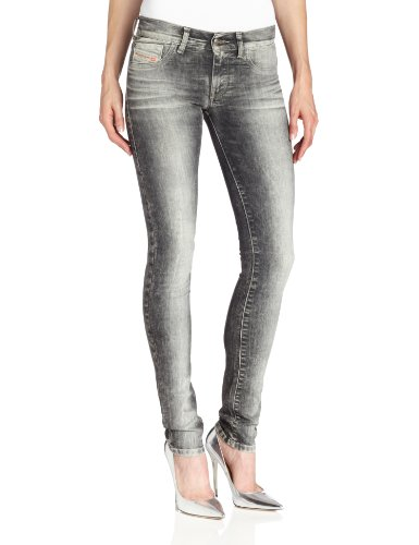 Diesel Women's Livier Super Slim Jegging, Denim 22D Wash, 24