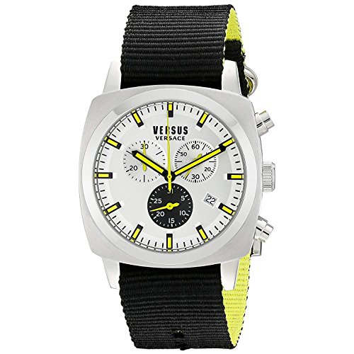 Versus by Versace Men's Riverdale Analog Display Quartz Black Watch