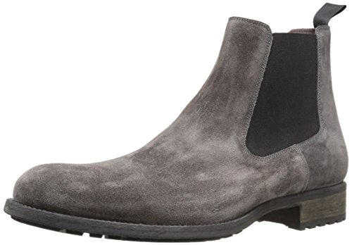 Magnanni Men's Karo Chelsea Boot, Grey, 7.5 M US