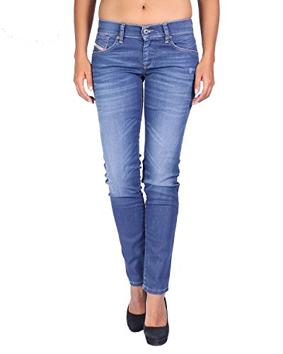 Diesel Women's Jeans Getlegg - Slim Skinny - Blue, W28/L30