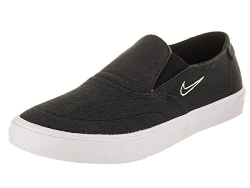 NIKE Men's SB Portmore II SLR SLP C Black/Black Light Bone Skate Shoe 8 Men US