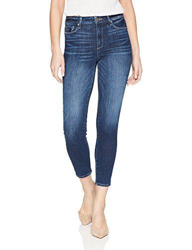 PAIGE Women's Hoxton Crop Jeans, Kylen, 28