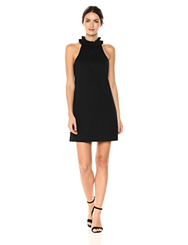 Trina Turk Women's Dobbie Dress, Black, 6