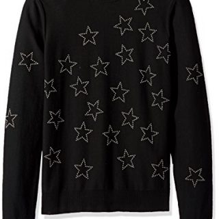 Just Cavalli Men's Star Sweatshirt, Black, M