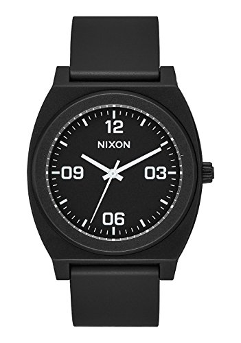 Nixon Time Teller P Corp Men's Watch Black 40mm Stainless Steel