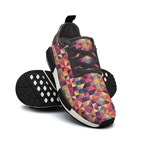 lsawdas Beautiful Pattern Vector Image Men Running Sneakers Shoes
