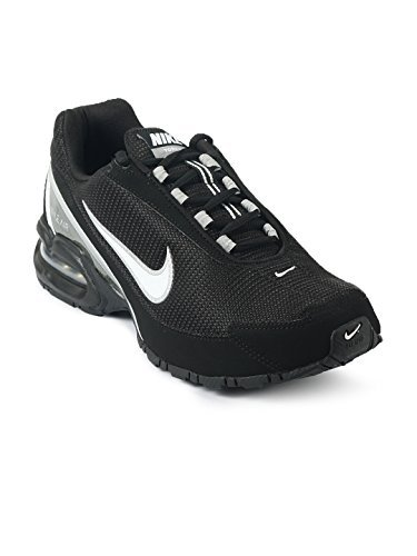 Nike Air Max Torch 3 Running Shoes, Black/White, 11