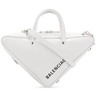 Balenciaga Women's White Leather Handbag