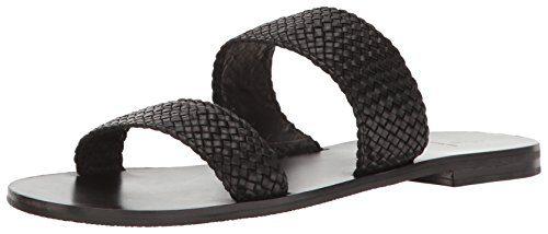 FRYE Women's Ruth Woven Ankle Gladiator Sandal, Black, 8.5 M US