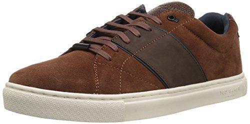 Ted Baker Men's Dannez Sneaker, Dark Tan, 10 D(M) US
