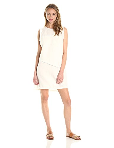 Dolce Vita Women's Layla Linen Dress, White, S