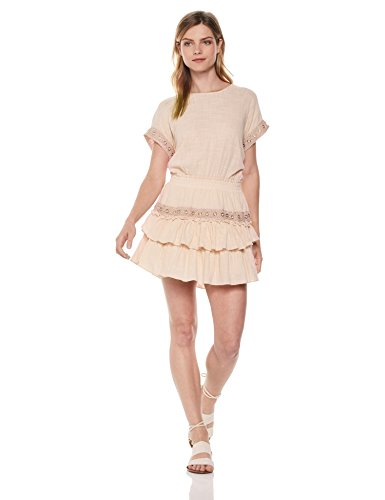 Misa Women's Oliva Dress, Pink/Pink, Small