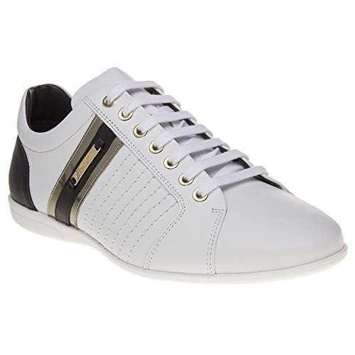 Versace Collection Mens Fashion Sneakers (9 UK/US10, White)