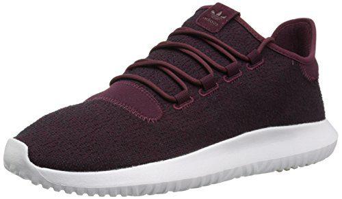 Adidas Men's Tubular Shadow Sneaker, Maroon/Vapour Grey/White, 9.5 M US