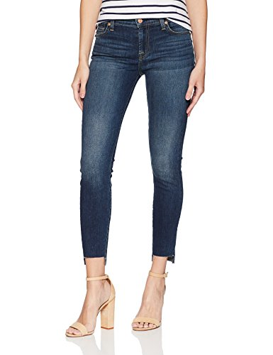 7 For All Mankind Women's The Gwenevere Ankle Skinny Jean, Ryldrkntblu, 28