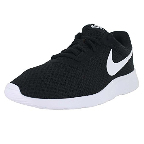 Nike Mens Tanjun Running Sneaker Black/White 9.5