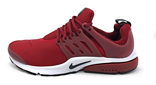 NIKE Air Presto Essential Lifestyle Sneakers Mens Team Red/Anthracite New
