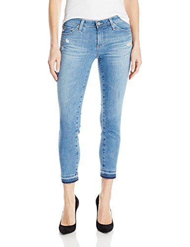 AG Adriano Goldschmied Women's Denim Stilt Crop Jean, Years Breathless, 28