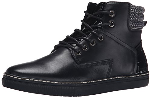 Joe's Jeans Men's Benny Fashion Sneaker, Black, 10 M US