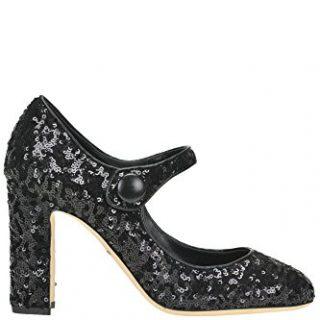 Dolce e Gabbana Women's Black Sequins Pumps