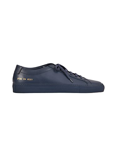 COMMON PROJECTS Men's Blue Leather Sneakers