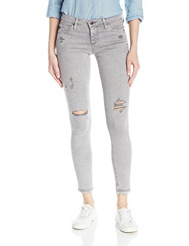 AG Adriano Goldschmied Women's The Legging Ankle Skinny Jeans, Interstellar Worn-Silver Ash, 27