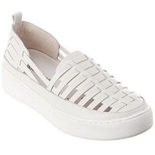 Donald Pliner Cierra Leather Sneaker, 9, White