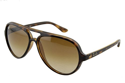 Ray-Ban CATS 5000 - LIGHT HAVANA Frame CRYSTAL BROWN GRADIENT Lenses 59mm Non-Polarized