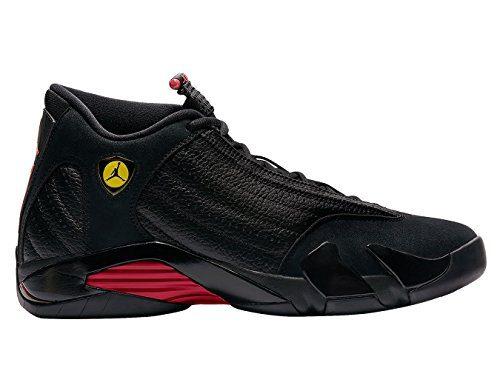 "Jordan Retro 14"" Last Shot Black/Varsity Red-Black (8.5 D(M) US)"