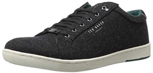 Ted Baker Men's Minem Sneaker, Black, 12 M US