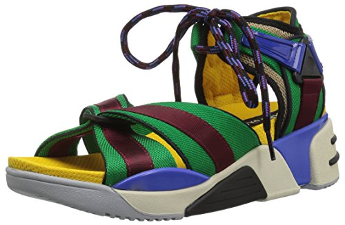 Marc Jacobs Women's Somewhere Sport Sandal, Blue/Multi, 39 M EU (9 US)