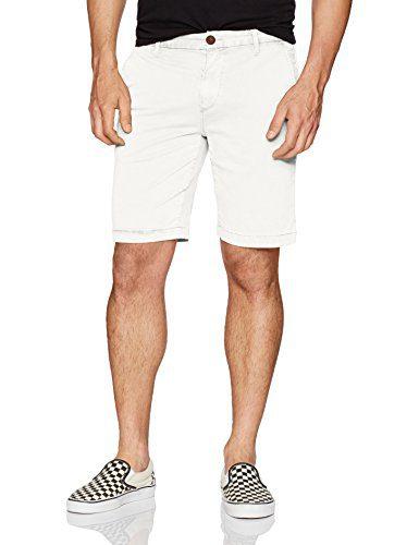 PAIGE Men's Thompson Short, Classic White, 32