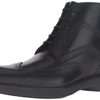 Salvatore Ferragamo Men's Gaiano Boot Nero 41 (US Men's 7) D - Medium